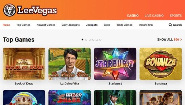 Лео Вегас казино